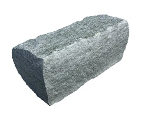 Luserna Gneis Mauerstein Randbegrenzung grau