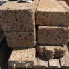 Tuff Blöcke Beige-Braun, Oberfläche + Kanten geschnitten, frei/frei/frei cm
