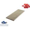 Sandstein Mint Bahnen, Oberfläche spaltrau, gesägt 20/frei/2,5 cm