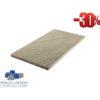 Sandstein Mint Bahnen, Oberfläche spaltrau, gesägt 30/frei/2,5 cm