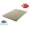 Sandstein Mint Bahnen, Oberfläche spaltrau, gesägt 60/frei/2,5 cm